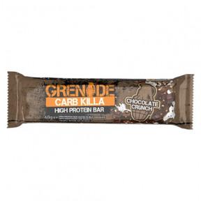 Barrita Proteica Carb Killa sabor Chocolate Crujiente Grenade 60 g