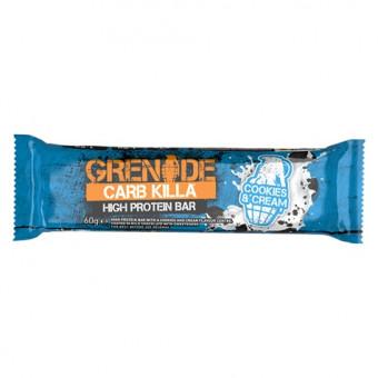 Barrita Proteica Carb Killa sabor Galletas con Crema Grenade 60 g