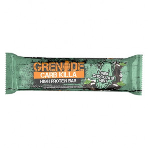 Barrita Proteica Carb Killa sabor Chocolate Negro con Menta Grenade 60 g