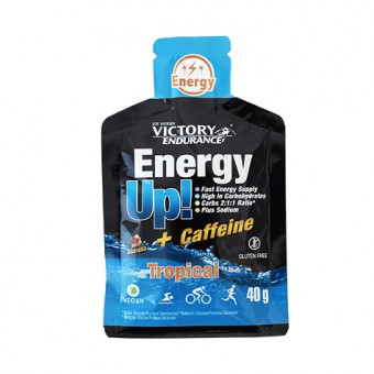Energy Up! + Cafeína Gel 40g Victory Endurance Tropical