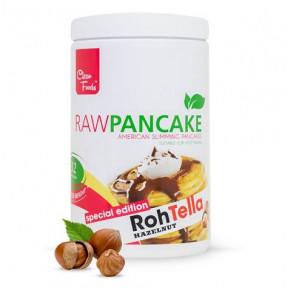 Preparado para Tortitas Low-Carb Raw Pancake sabor RawTella Clean Foods 425 g