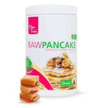 Preparado para Tortitas Low-Carb Raw Pancake sabor Caramelo Clean Foods 425 g