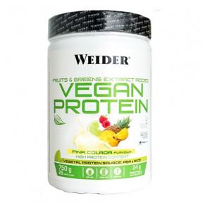 Vegan Protein Sabor Piña Colada Weider 750 g