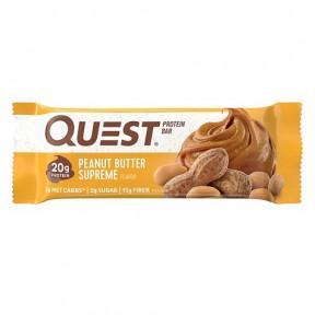 Barra de Proteínas Sabor Manteiga de Amendoim Quest 60g