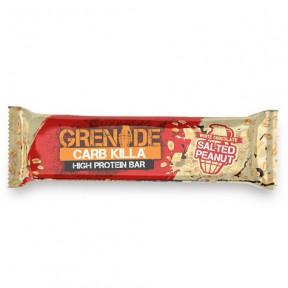 Barrita Proteica Carb Killa sabor Chocolate Blanco con Cacahuete Salado Grenade 60 g