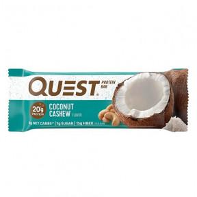 Barre Protéinée Saveur Noix de Cajou à la Noix de Coco Quest 60g