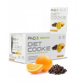 Galleta Proteica sabor Chocolate con Naranja Diet Cookie PHD 50 g