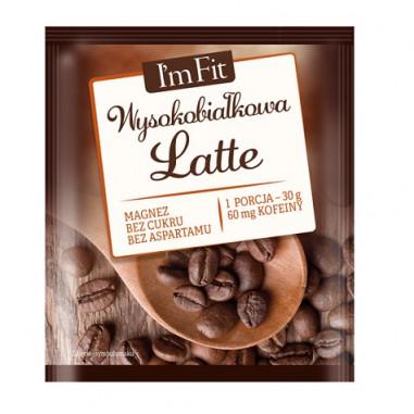 Preparação de Proteína com Café I'm Fit Activlab 30 g