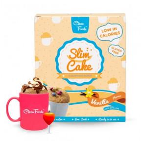 Clean Foods Slim Cake Vanilla Taste 250 g