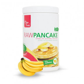 Preparado para Tortitas Low-Carb Raw Pancake sabor Plátano Clean Foods 425 g