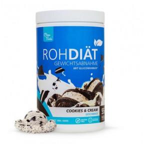 Preparado para Batido Substituto Raw Diet sabor Biscoitos com Creme Clean Foods 600 g