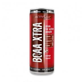 Bebida BCAA Xtra Drink + Cafeína sabor Naranja Activlab 250 ml