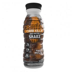 Shake Protéiné goût Brownie Carb Killa Grenade 330 ml