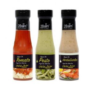 Pack Salsas para pasta 0% 2Bslim