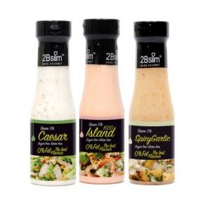 Pack Salsas para Ensaladas 0% 2Bslim