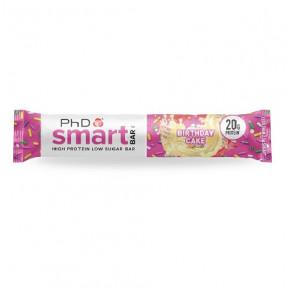 Smart Bar Tarta de Cumpleaños PhD 64g