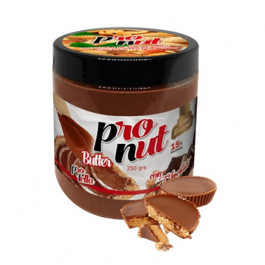 Crema de Cacahuete y Chocolate Protella 250 g