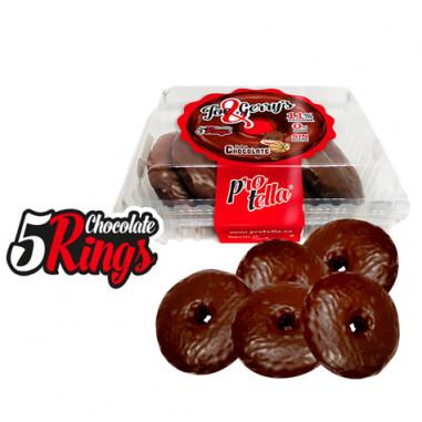 Donuts au Chocolat Protella 208 g