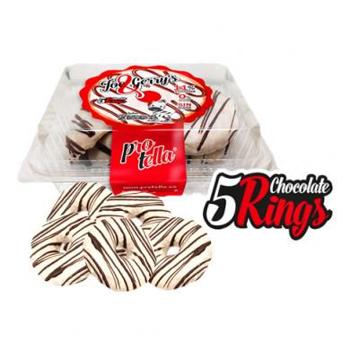Donuts de Chocolate sabor Zebra Protella 208 g