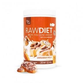 Préparation pour shake de substitution Raw Diet Vegan goût Brioches à la Cannelle Clean Foods 600 g
