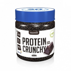 Protein Crunchy sabor Chocolate Negro Quamtrax 500 g