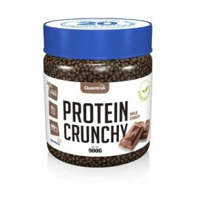 Protein Crunchy goût Chocolat au Lait Quamtrax 500 g