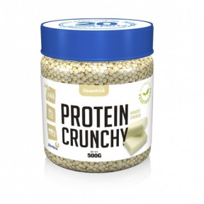 Protein Crunchy sabor Chocolate Blanco Quamtrax 500 g