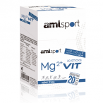 Mg2+ Vit Goût Fraise AMLSport 20 Sticks
