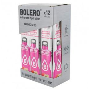 Pack de 12 Bolero Drinks Sticks Banana e Morango 36 g