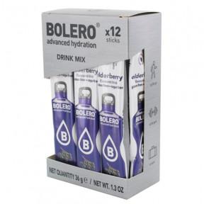 Pack 12 Bolero Drinks Sticks Elderberry 36 g