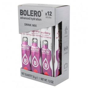 Pack 12 Bolero Drinks Sticks Raspberry 36 g