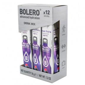 Pack de 12 Bolero Drinks Sticks Frutas do bosque 36 g