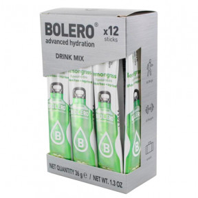 Pack de 12 Bolero Drinks Sticks Citronela 36 g