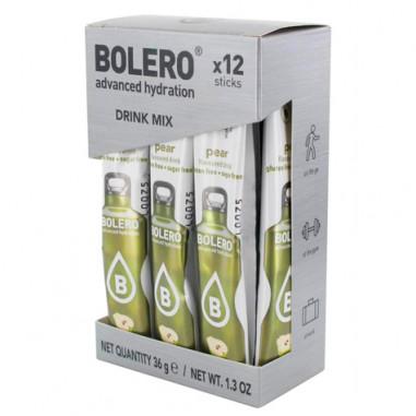 Pack de 12 Bolero Drinks Sticks Pêra 36 g