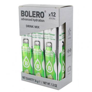 Pack 12 Sachets Bolero Drink goût Fleur de sureau 36 g