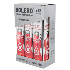Pack 12 Bolero Drinks Sticks Goji Berries 36 g