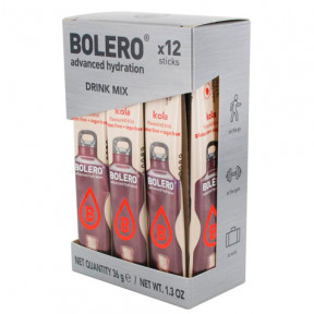 Pack 12 Sticks Bebidas Bolero sabor Cola 36 g