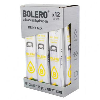 Pack 12 Sticks Bebidas Bolero sabor Ice Tea Limón 36 g
