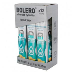 Pack de 12 Bolero Drinks Sticks Multivitamínico 36 g