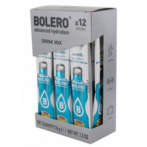 Pack 12 Sticks Bebidas Bolero sabor Exotic 36 g