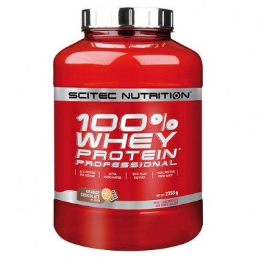 100% Whey Professional Scitec Nutrition -chocolat orange