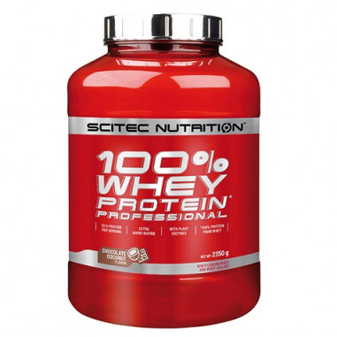 100% Whey Professional Scitec Nutrition Chocolate-Coconut 2350 g