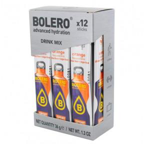 Pack 12 Sticks Bebidas Bolero Isotónico sabor Naranja 36 g