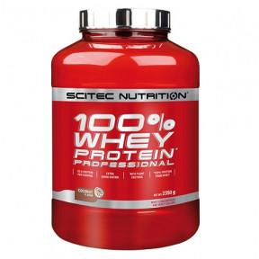 100% Whey Professional Scitec Nutrition Noix de coco 2350 g