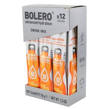 Pack 12 Sticks Bebidas Bolero sabor Mandarina 36 g