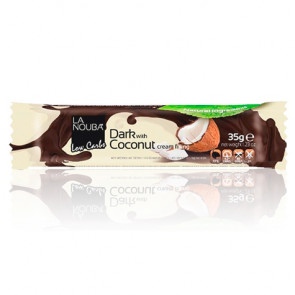 Barrita Low-Carb de Chocolate negro con coco LaNouba 35 g