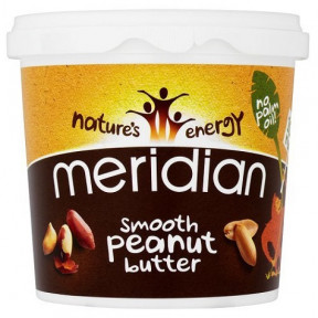 Manteiga de Amendoim Macia Meridian 1 kg