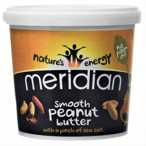 Smooth Salted Peanut Butter Meridian 1 kg