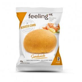 Bollito FeelingOk Sandwich Fase 2 Natural 1 unidad 40 g