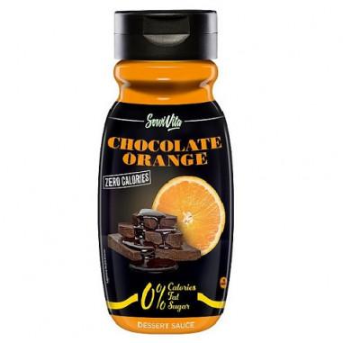 Servivita 0% Chocolate and Orange Syrup 320 ml
